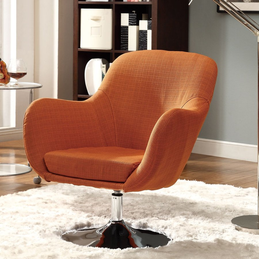 Coaster Fine Furniture Casual Orange Accent Chair