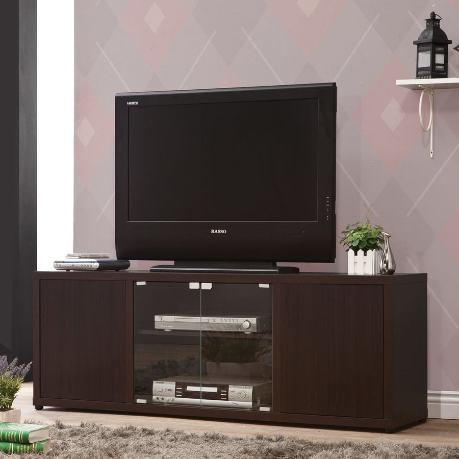 Coaster Fine Furniture Cappuccino Rectangular TV Cabinet