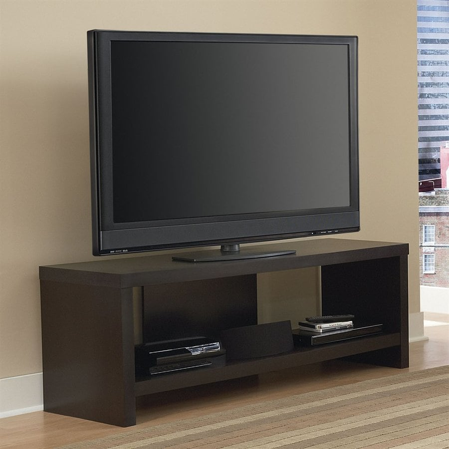 Shop Ameriwood Home Black Forest Rectangular TV Cabinet at ...