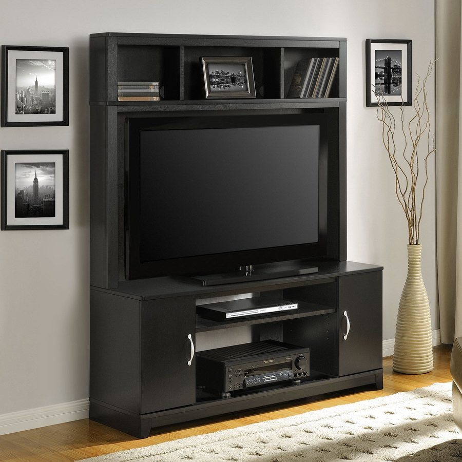 Ameriwood Home Woodland Espresso Rectangular TV Cabinet