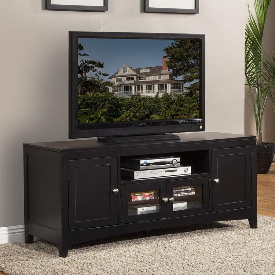 Alpine Furniture Vista Dark Espresso Rectangular TV Cabinet