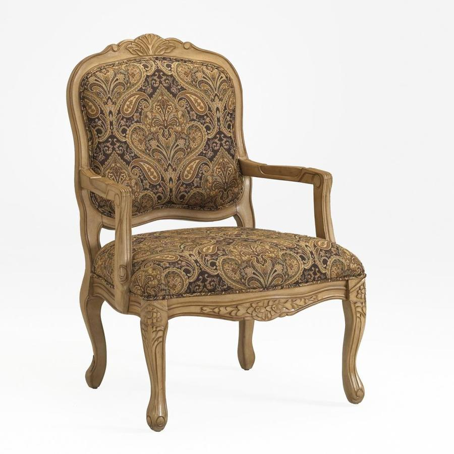 Comfort Pointe Livingston Victorian Chocolate Accent Chair