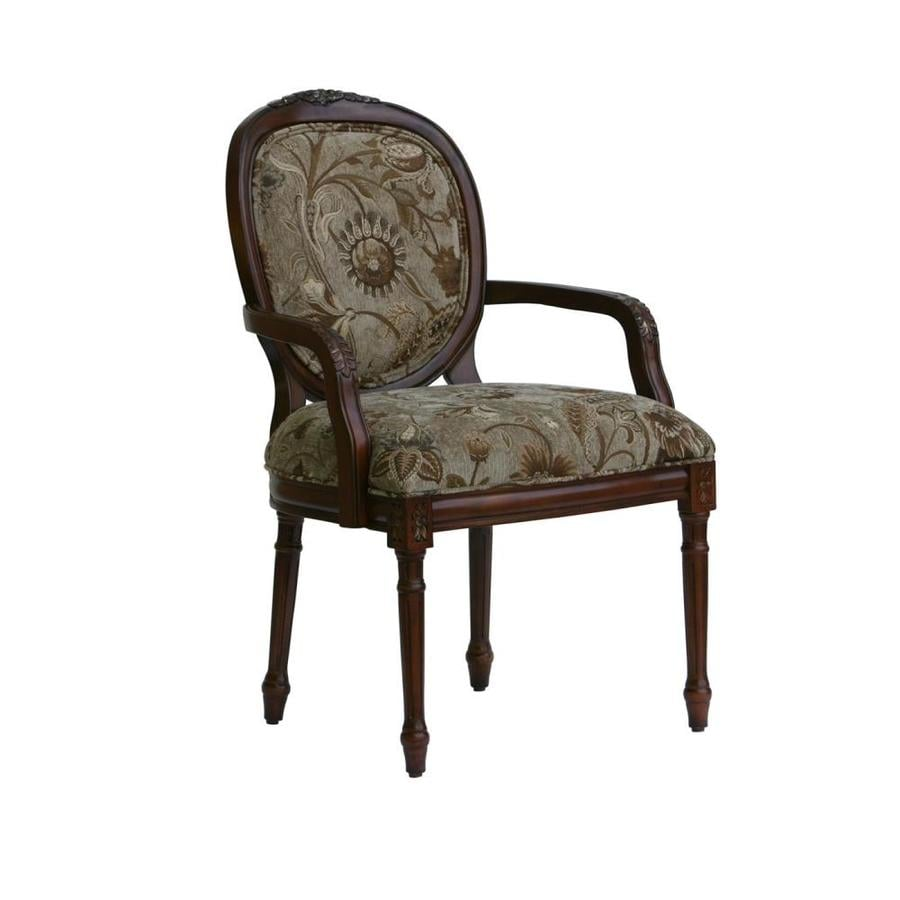 Brilliant Comfort Pointe Belmont Victorian Taupe Accent Chair At Lowes Com Creativecarmelina Interior Chair Design Creativecarmelinacom