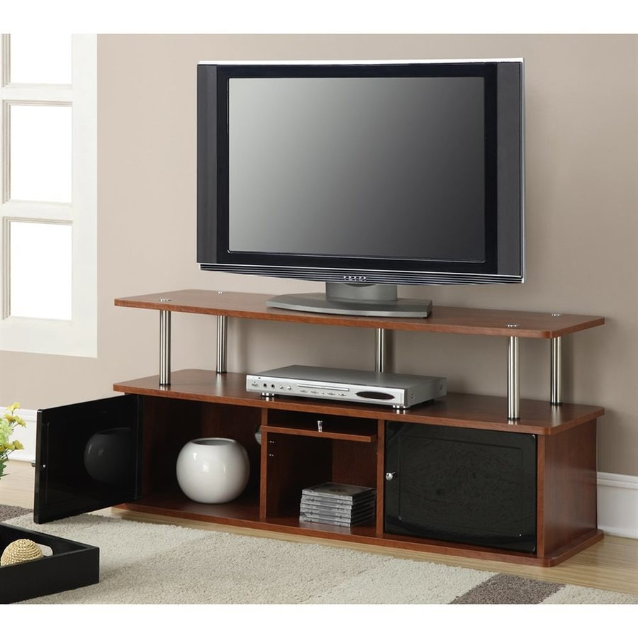 Convenience Concepts Designs2Go Cherry Rectangular TV Cabinet