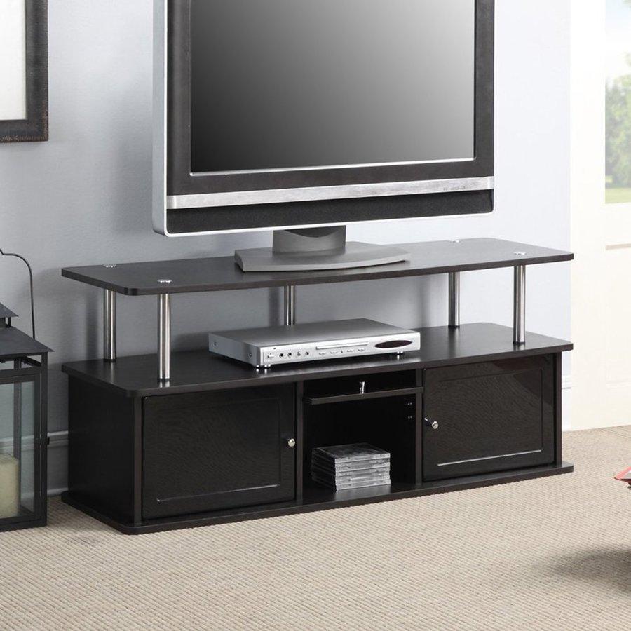 Convenience Concepts Designs2Go Espresso Rectangular TV Cabinet