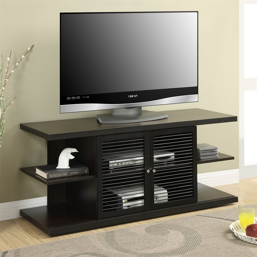Convenience Concepts Designs2Go Espresso Rectangular TV Cabinet