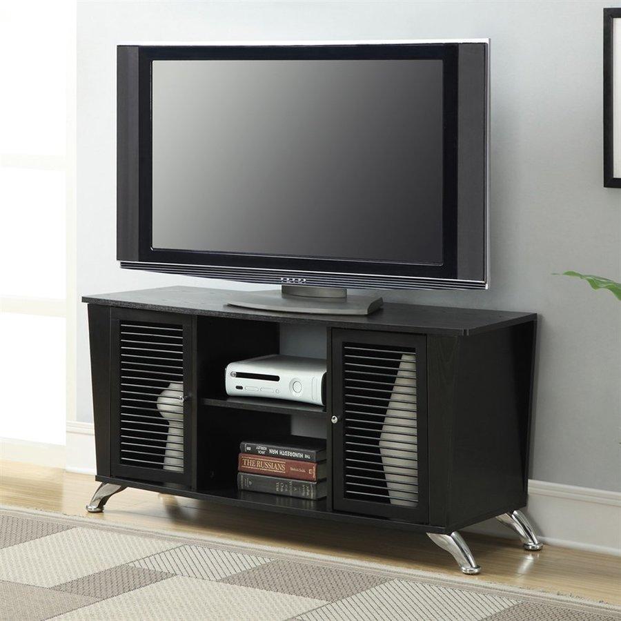 Convenience Concepts Designs2Go Black Rectangular TV Cabinet