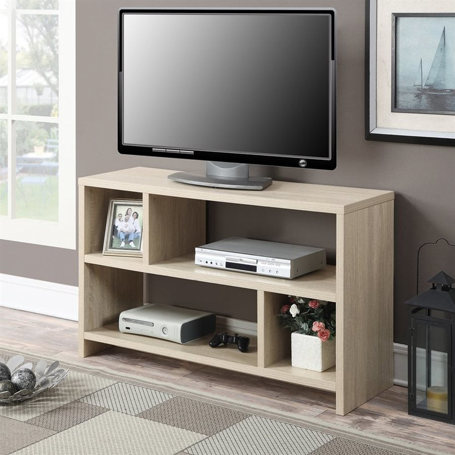 Convenience Concepts Designs2go Weathered White Rectangular Tv