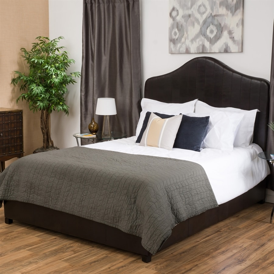Best Selling Home Decor Chambers Brown Queen Upholstered Bed