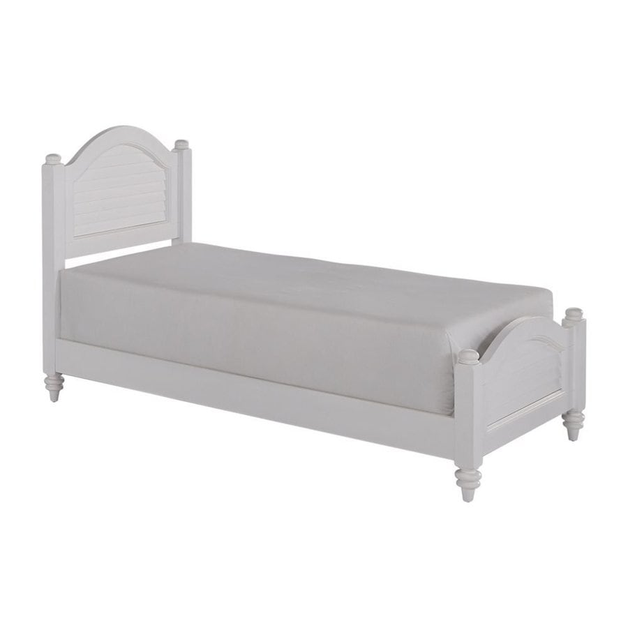 Home Styles Bermuda White Twin Panel Bed