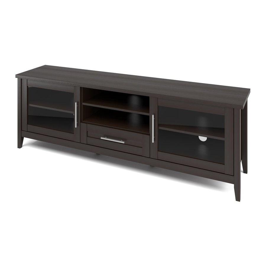CorLiving Jackson Espresso Rectangular TV Cabinet