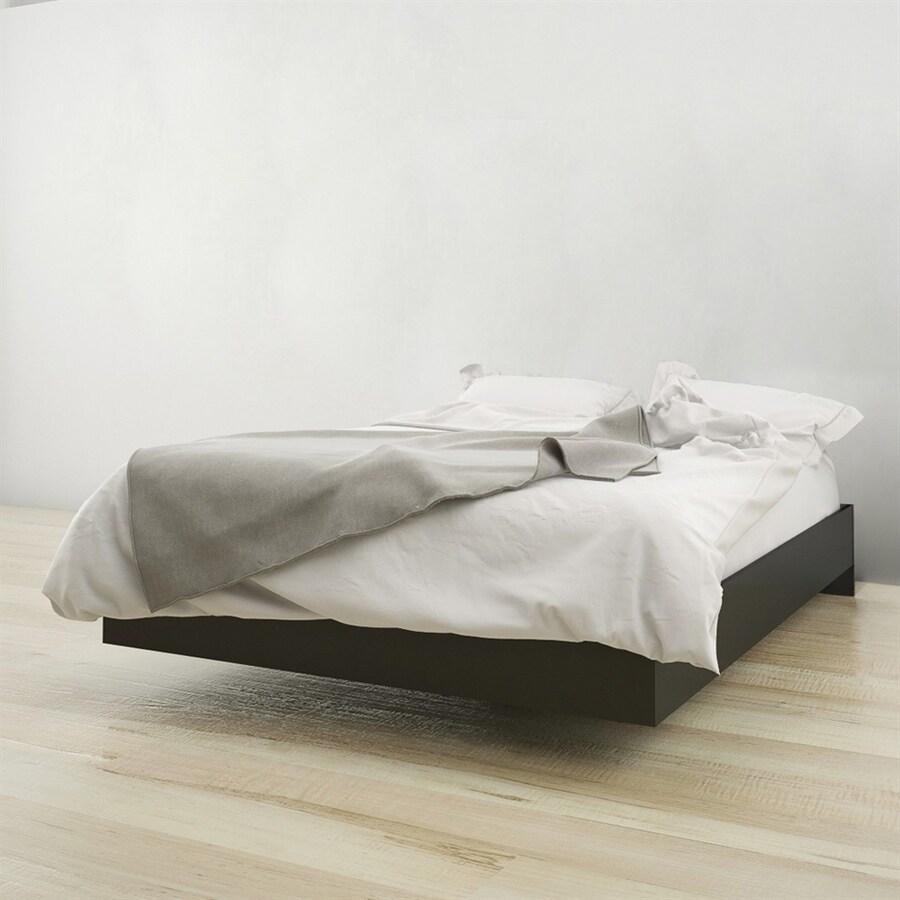 Nexera Jet Set Black Full Platform Bed