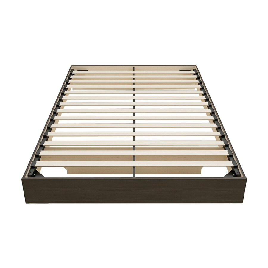 Nexera Jet Set Ebony Queen Platform Bed