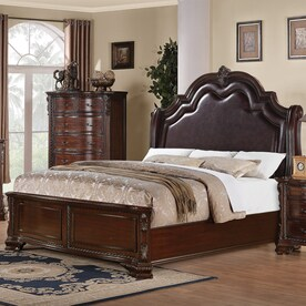 Exceptionnel Coaster Fine Furniture Maddison Brown Cherry King Panel Bed