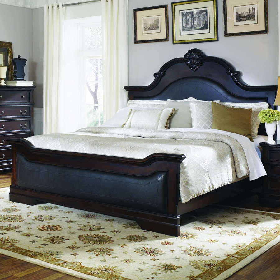 Coaster Fine Furniture Cambridge Cappuccino Queen Upholstered Bed