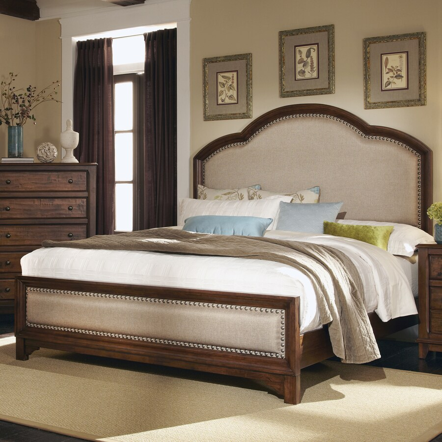 Coaster Fine Furniture Laughton Cocoa Brown King Upholstered Bed
