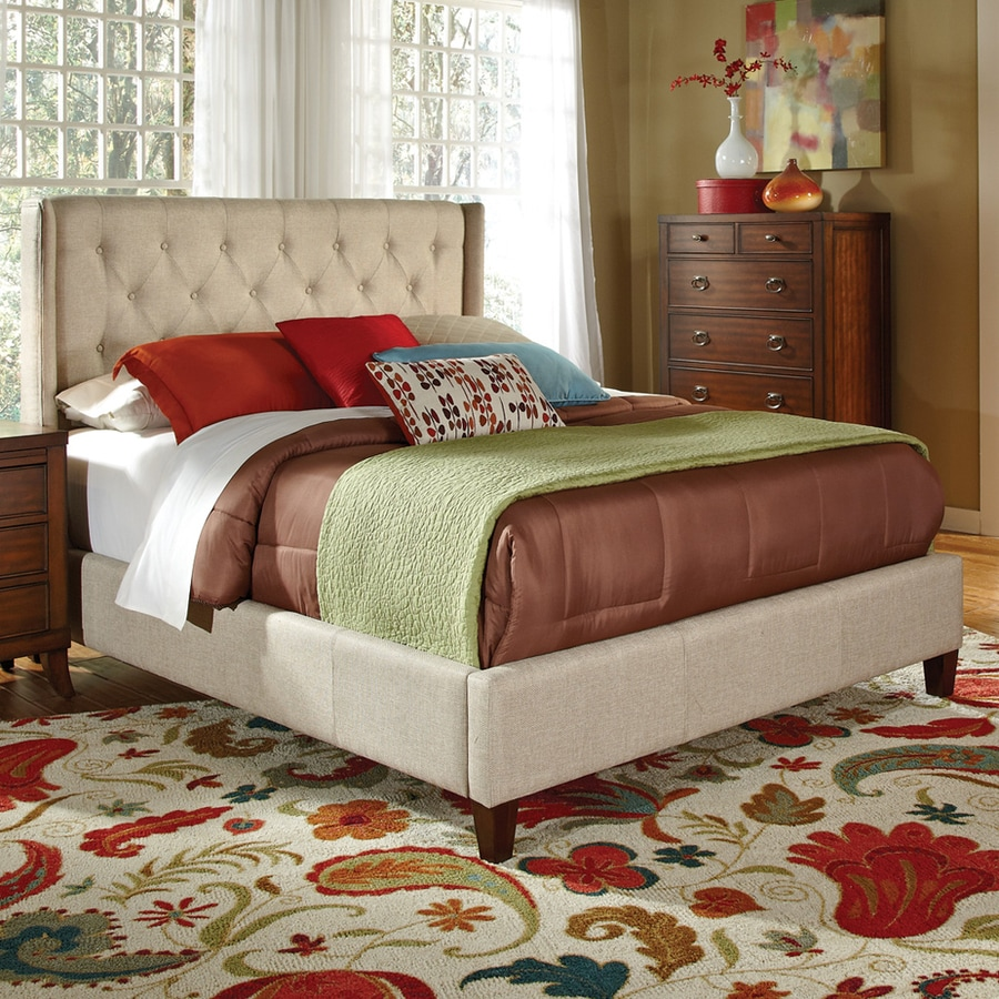 Coaster Fine Furniture Tan Queen Panel Bed