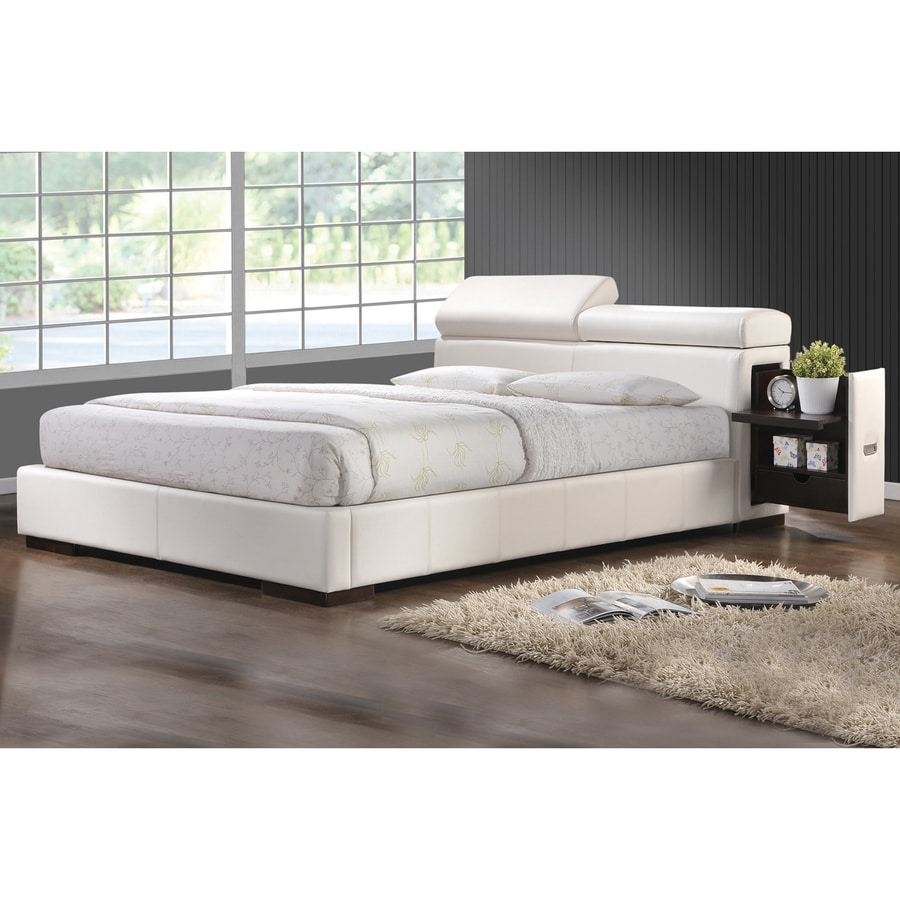 Coaster Fine Furniture Maxine White California King Upholstered Bed with Storage