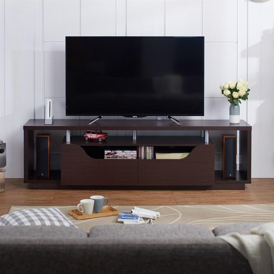Enitial Lab Kenslie Espresso Rectangular TV Cabinet