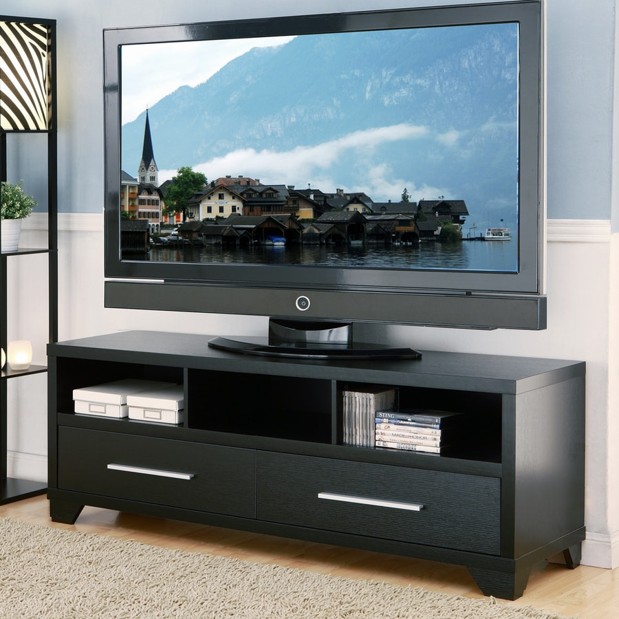 Enitial Lab Myers Black Rectangular TV Cabinet