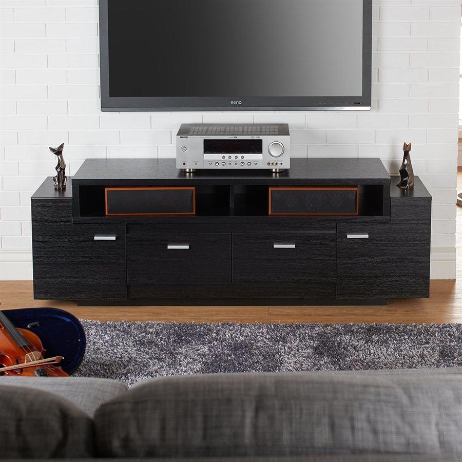 Enitial Lab Talbot Black Rectangular TV Cabinet