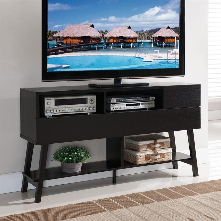 Enitial Lab Novah Cappuccino Rectangular TV Cabinet