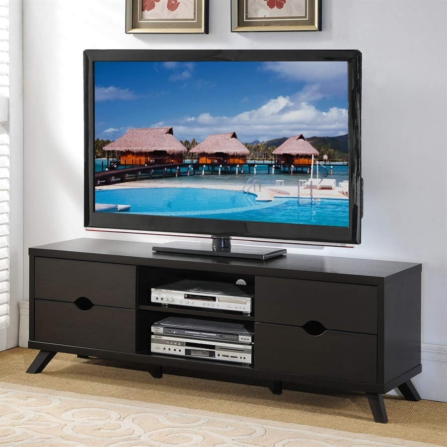 Enitial Lab Kinsey Cappuccino Rectangular TV Cabinet