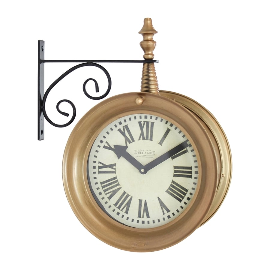Aspire Home Accents Delcampe Analog Round Wall Standard Clock