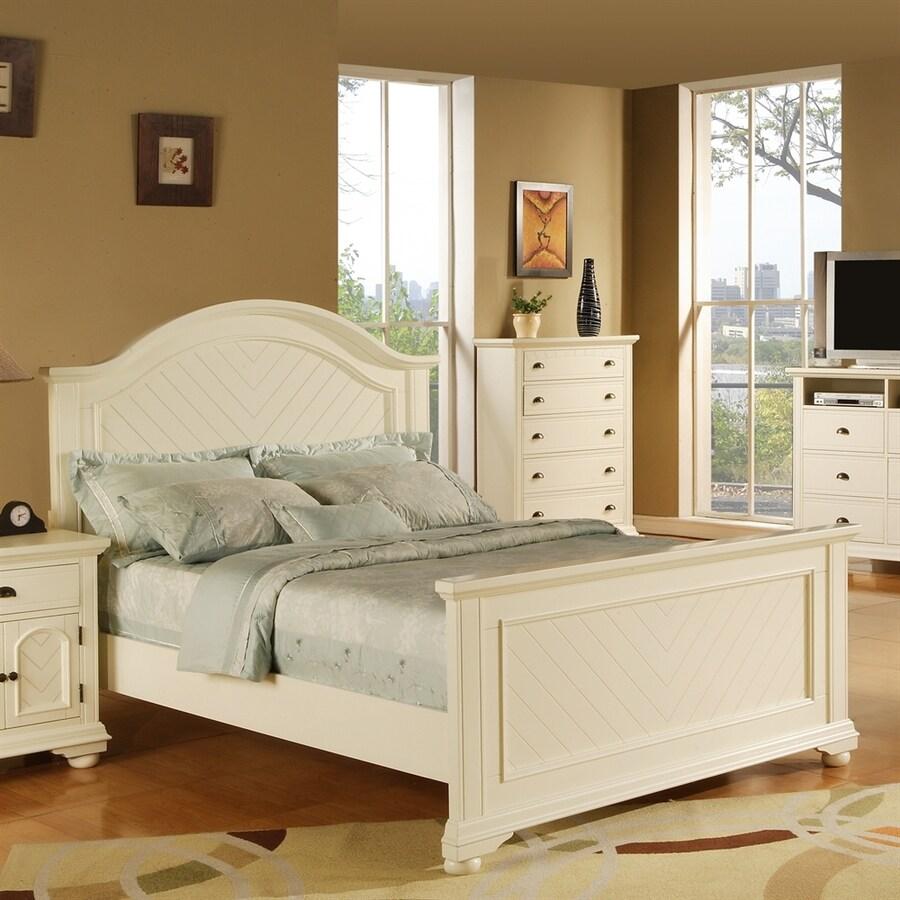 Picket House Furnishings Belmor White Full Panel Bed