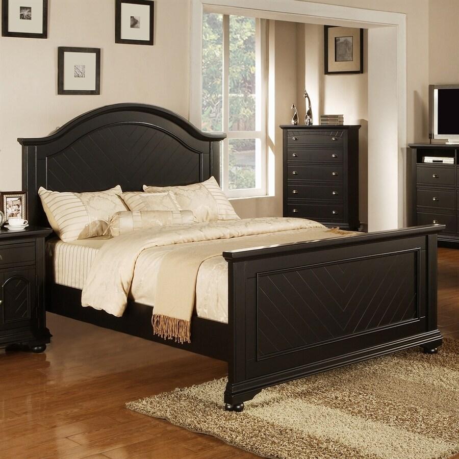 Picket House Furnishings Belmor Black Full Panel Bed