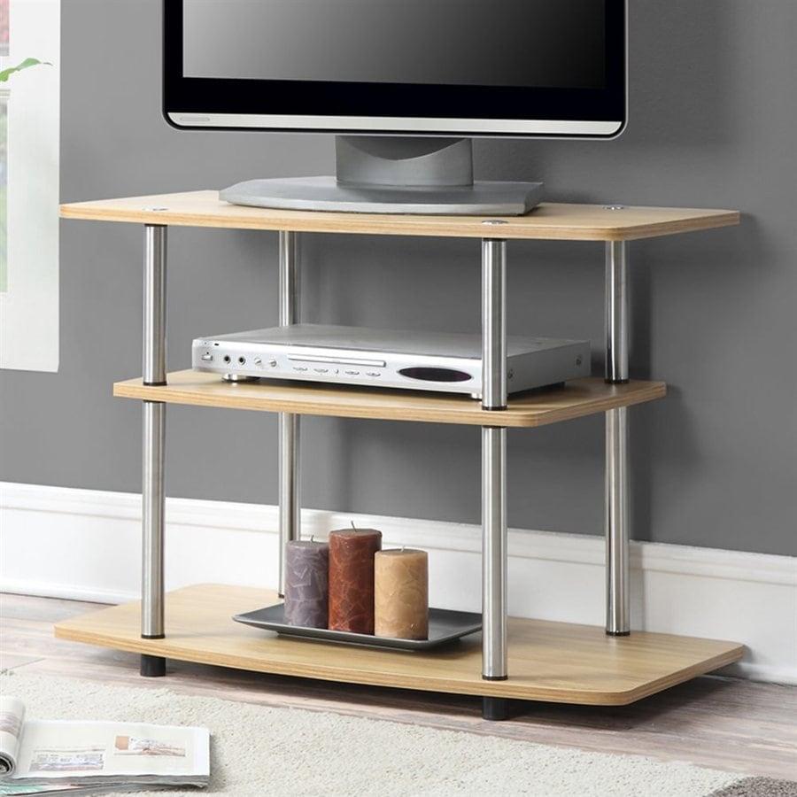Convenience Concepts Designs2Go Light Oak Rectangular TV Cabinet