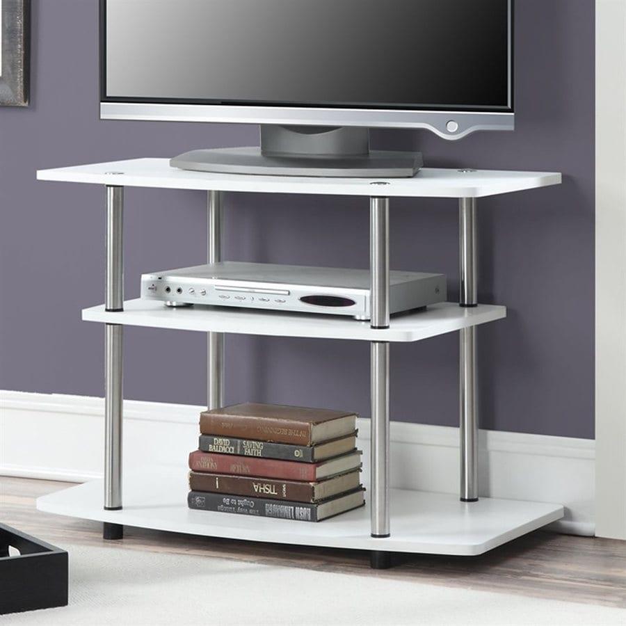 Convenience Concepts Designs2Go White Rectangular TV Cabinet