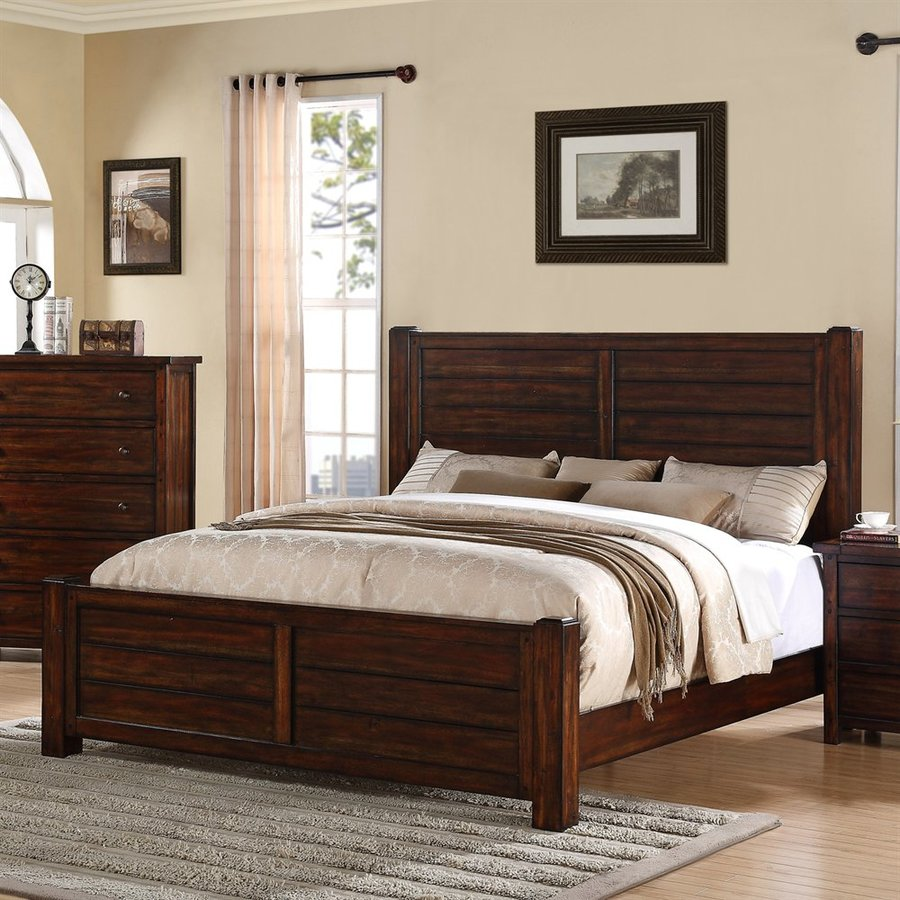 Picket House Furnishings Darien Deep Chestnut Queen Panel Bed