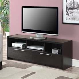 Convenience Concepts Newport Espresso Rectangular TV Cabinet