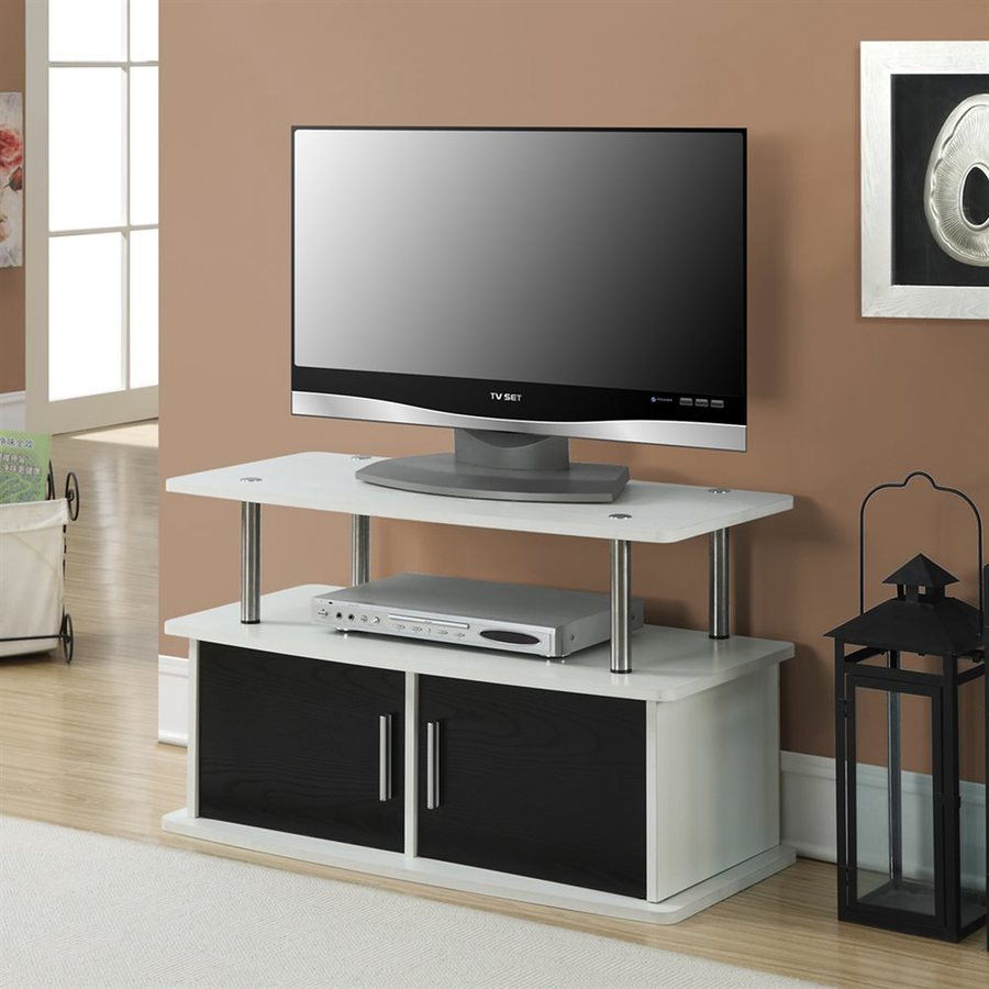 Convenience Concepts Designs2Go White Rectangular TV Cabinet
