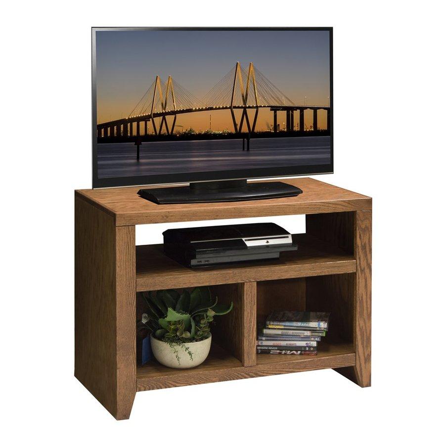Legends Furniture City Loft Golden Oak Rectangular TV Cabinet