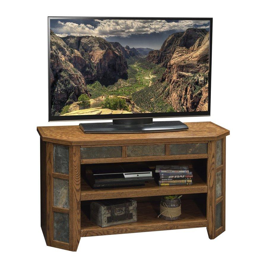 Legends Furniture Oak Creek Golden Oak Rectangular TV Cabinet