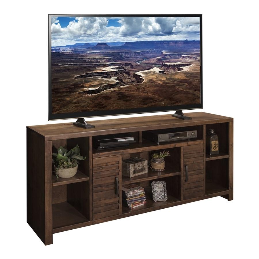 Bon Legends Furniture Sausalito Whiskey Rectangular TV Cabinet