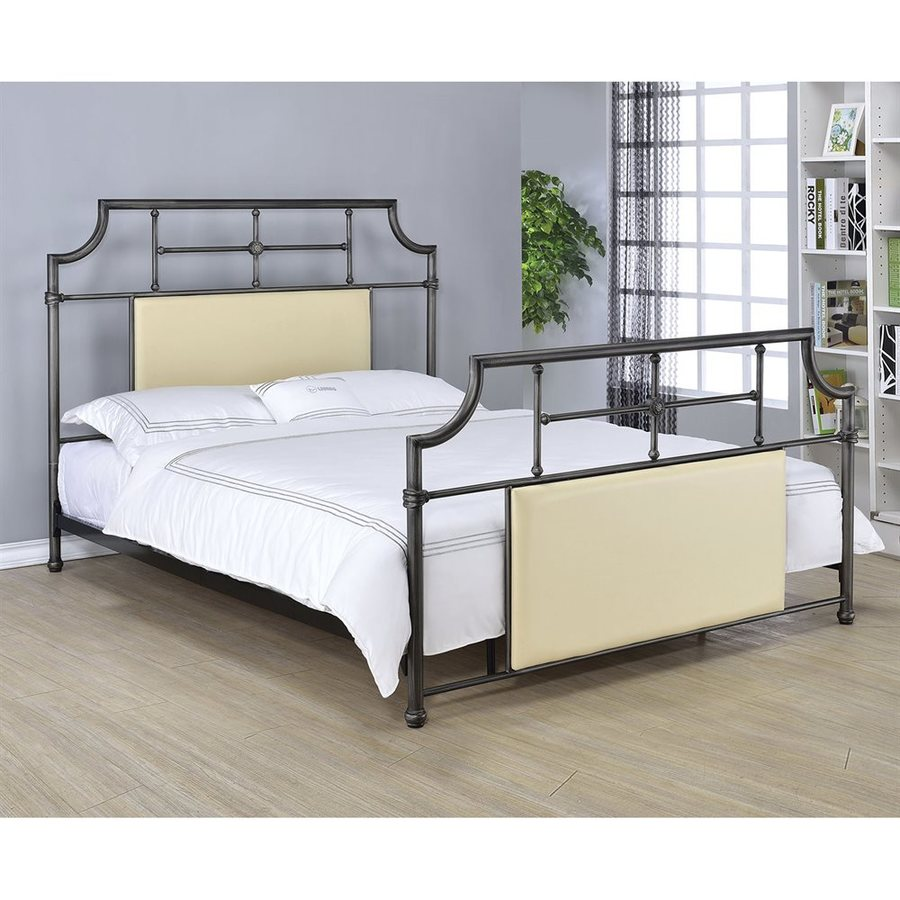 ACME Furniture Xava Antique Black Full Panel Bed