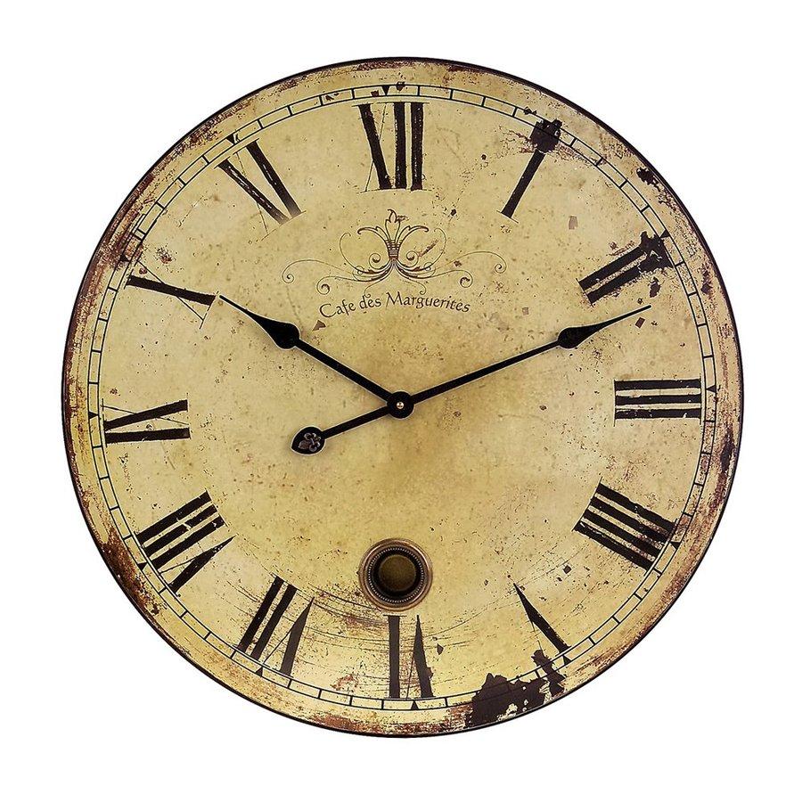 Imax Worldwide Analog Round Indoor Wall Clock