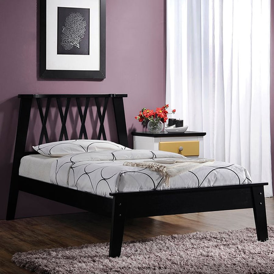 ACME Furniture Moffett Black Twin Platform Bed