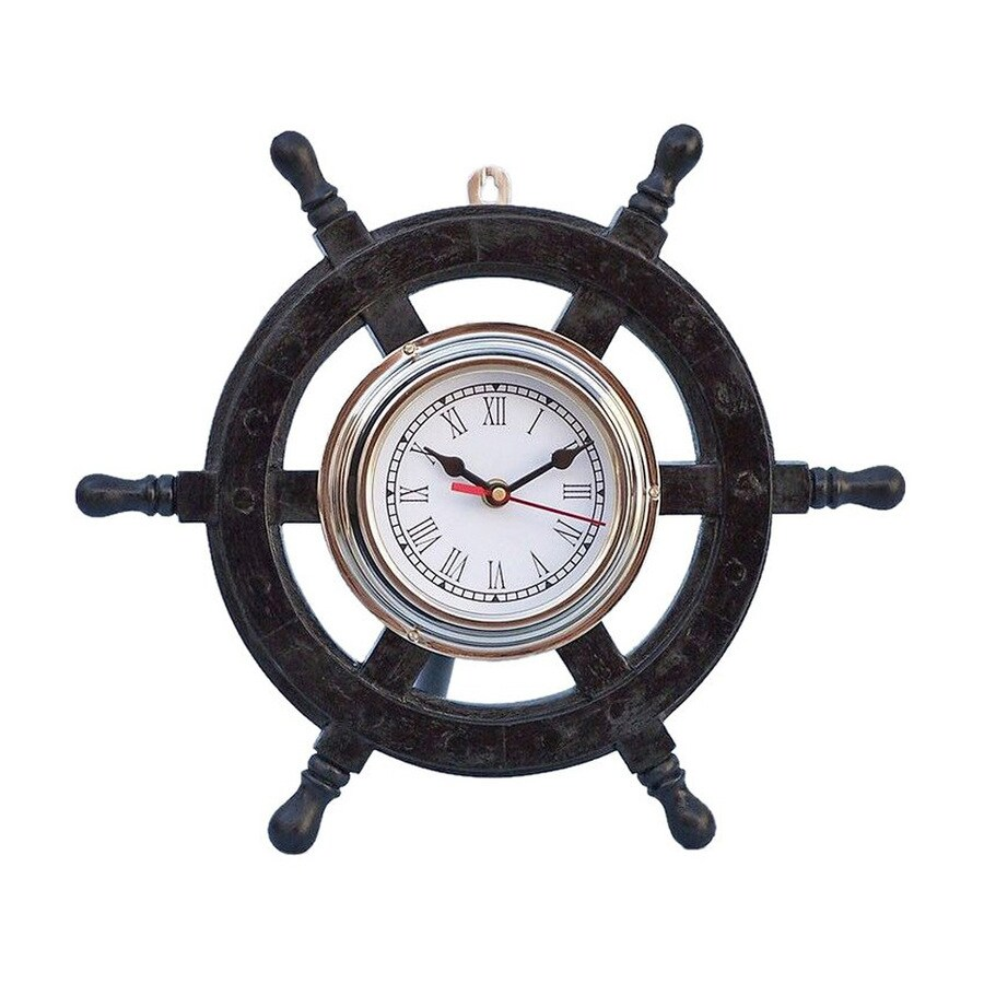 Shop Handcrafted Nautical Decor Deluxe Class Pirate Ship Wheel