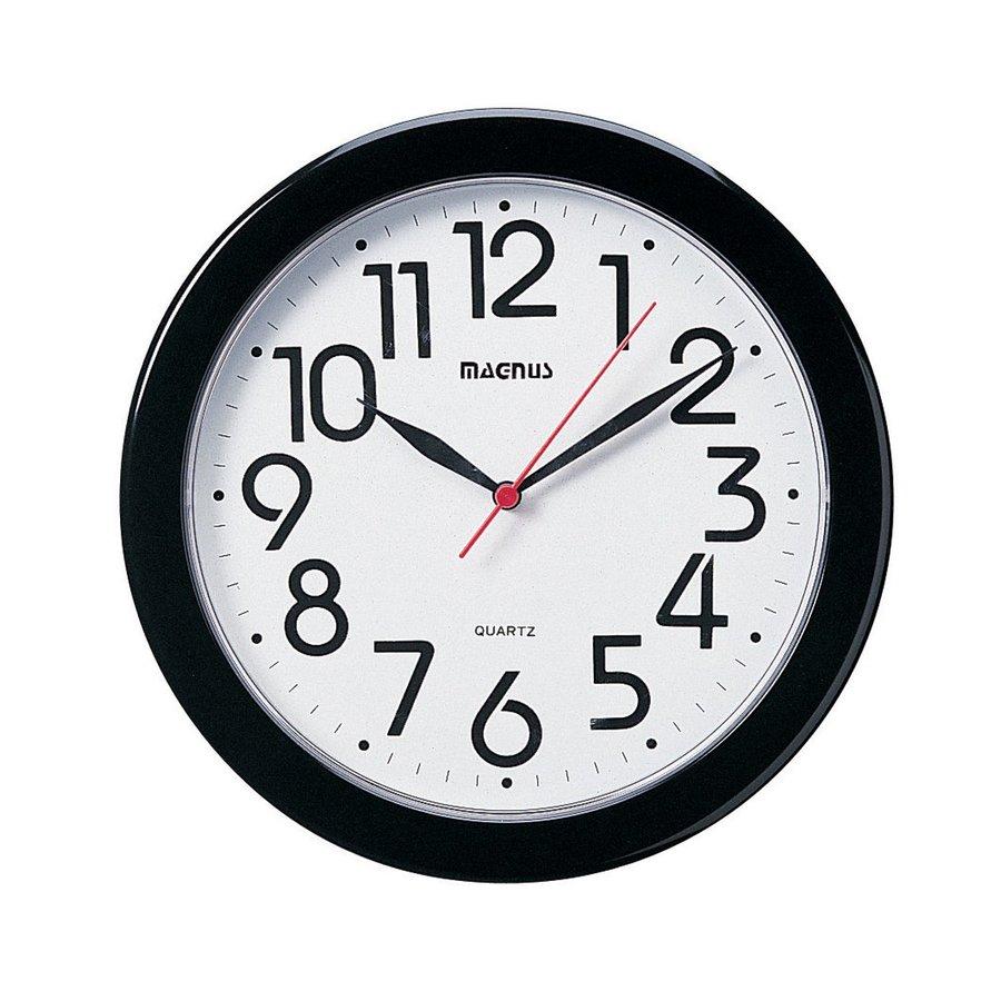 Dainolite Lighting Magnus Analog Round Indoor Wall Clock