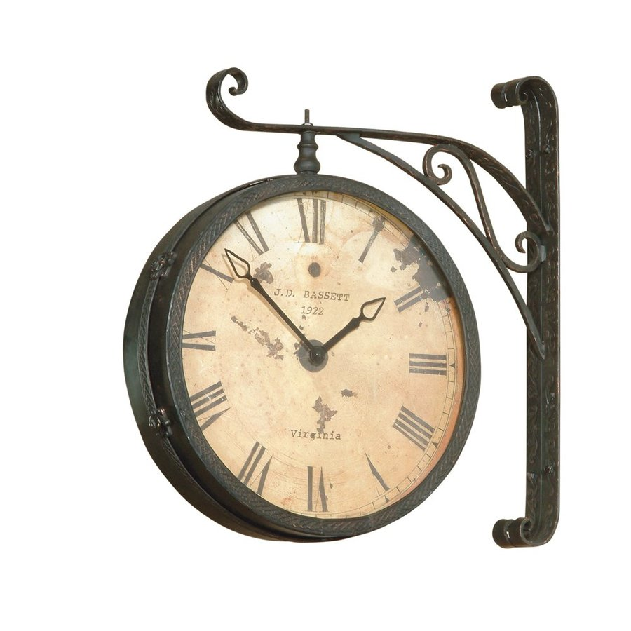 Bassett Mirror Company Victorian Analog Round Wall Clock