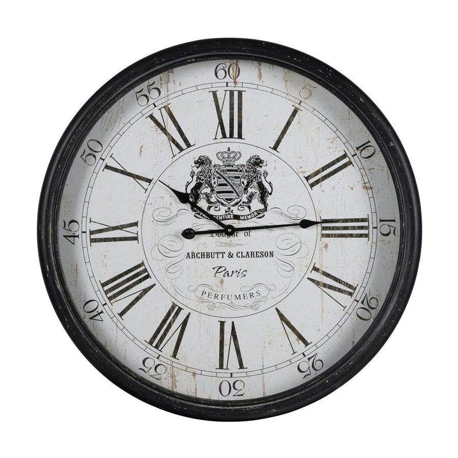 Cooper Classics Wellesley Analog Round Indoor Wall Clock