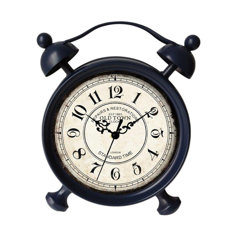 Cheung's Analog Round Indoor Tabletop Clock