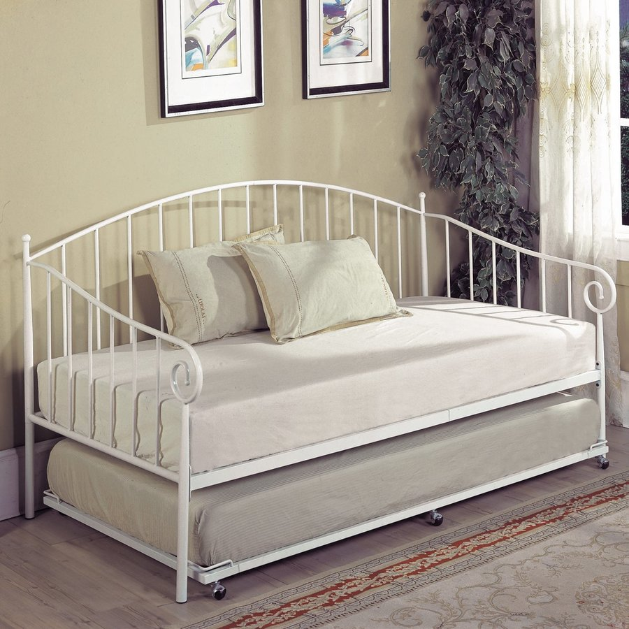 KB Furniture White Twin Daybed