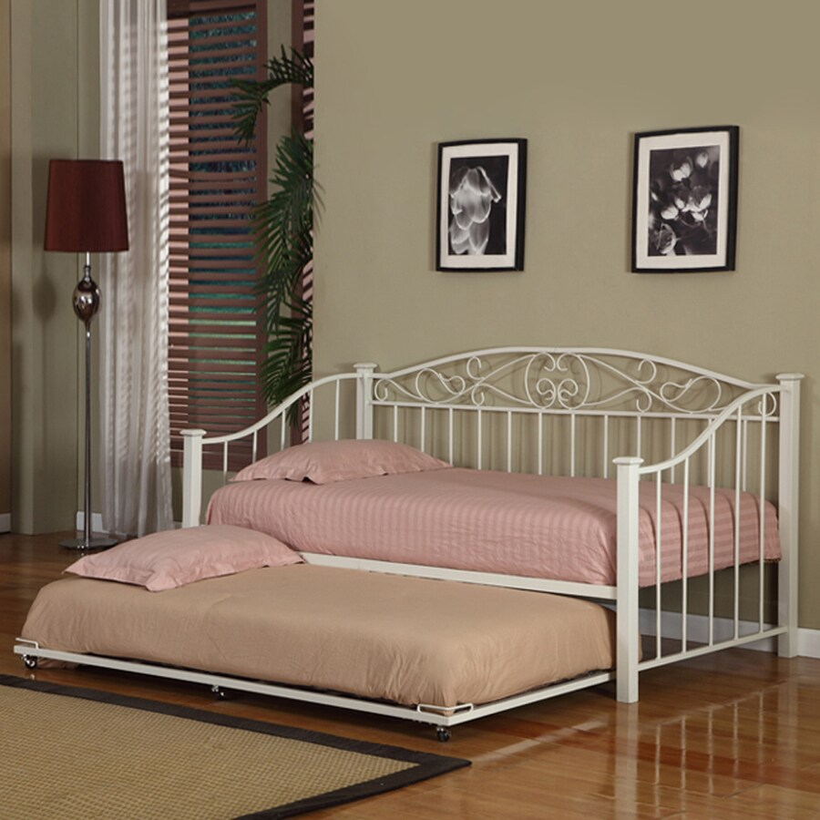 KB Furniture Cream White Twin Daybed