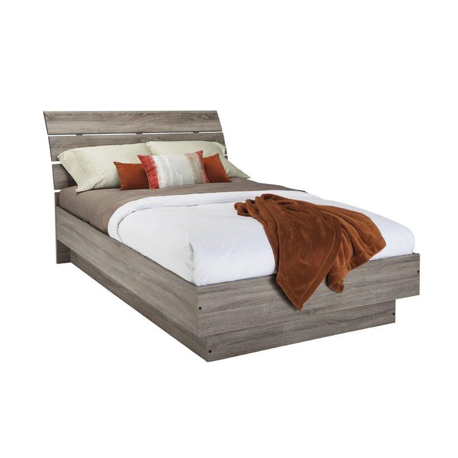 Tvilum Scottsdale Truffle Full Platform Bed