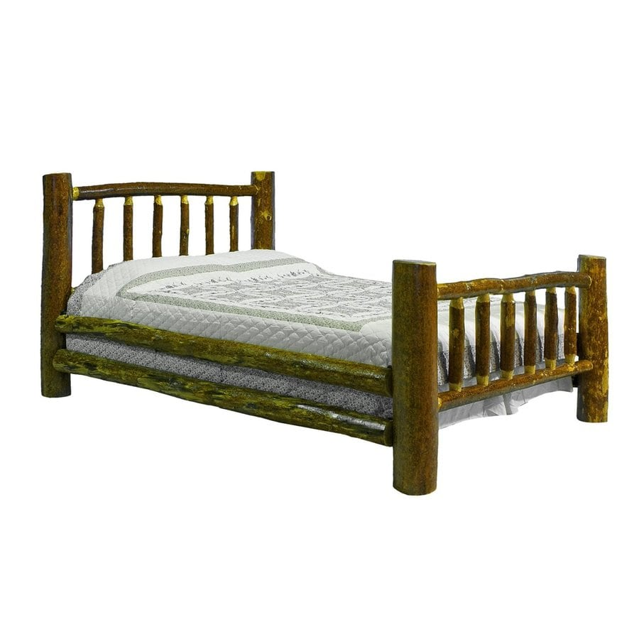 Montana Woodworks Glacier Country Stained/Lacquered Twin 4-Poster Bed